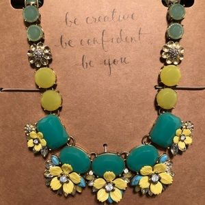 Chloe & Isabel Vintage Necklace w/ Yellow Flowers